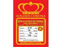 Полотно сетевое Golden Corona, 50х0,16х75х150