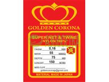 Полотно сетевое Golden Corona, 55х0,16х75х150