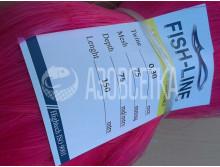 Полотно сетевое Fish-Line, 75х0,30х75х150