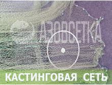 Сеть кастинговая с кольцом, д-6,0м / капрон
