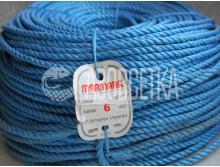 Полипропиленовая веревка Marmara 6,0 мм, бухта 200 м