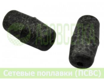 Поплавок сетевой ХАК-4-1К, 46х25мм (серый)