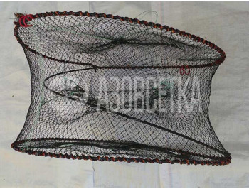 Раколовка складная (бочка): d-60 см, h-30 см