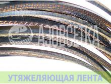Шнур грузовой 34гр/м, резинотканная лента, 90м