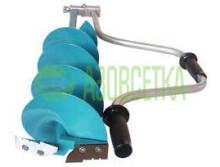 Ледобур шнековый NERO 130 мм, длина шнека 620 мм