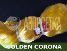 Сетеполотно Golden Corona, 90х0.20*4х75х150, скрученная леска