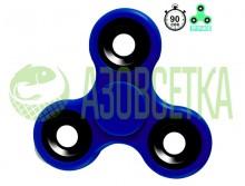 Спиннер №3 Fidget Spinner (сине-черный)