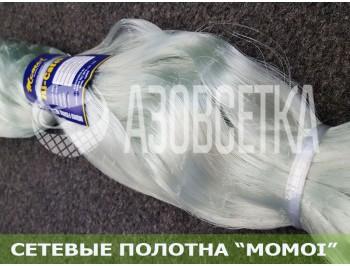 Сетевое полотно Момои из монолески, ячейка 32мм, толщина 0,17мм, высота 75 ячеек