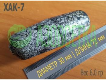 Поплавок сетевой ХАК-7, 72х30х7 из вспененного полистирола, серый