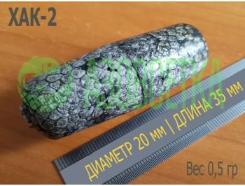 Поплавок сетевой ХАК-2 для оснащения рыболовных сетей, 35х20х6 (серый)