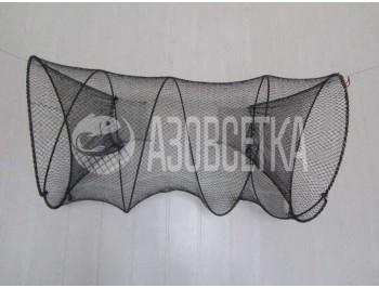 Раколовка-ятерь складная: диаметр 65 см, длина 100 см