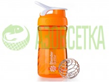 Шейкер Blender Bottle SportMixer (orange)