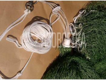 Кастинговая сеть американского типа из капроновой нити, д.4м