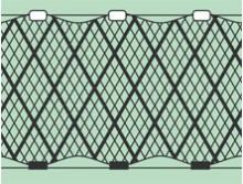 Трехстенные (порежные, ряжевые) рыболовные сети